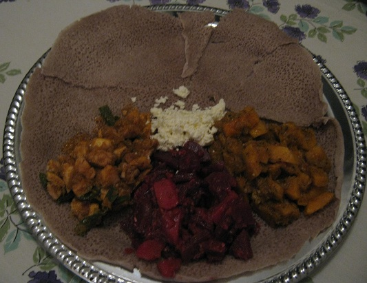 Recipes ethiopian food mesob across america doro tibs kaysir dinich duba wat ayib forumfinder Gallery