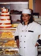 Pastry chef Almaz Dama