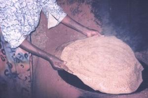 Pure teff injera in Ethiopia