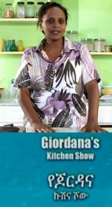 Giordana's Kitchen Show
