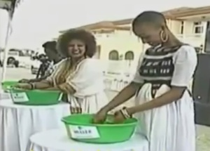 A doro wot cooking contest in Ethiopia
