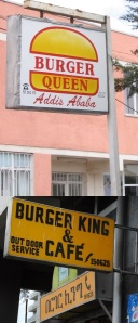 Two royal  Addis Ababa  fast food places