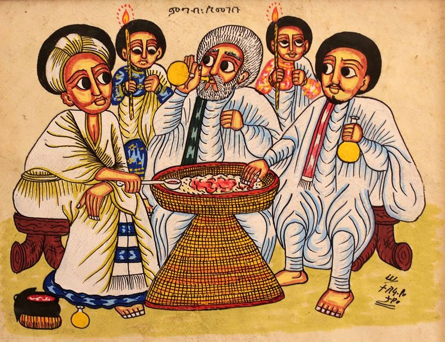 The Art Of The Meal Ethiopian Food Mesob Across America
