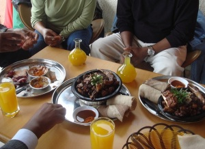 Food and t'ej in Ethiopia