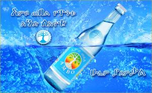 Ambo mineral water from Ethiopia