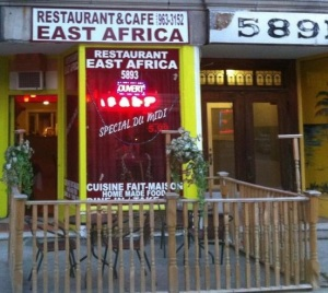 Montreal's homey Restaurant East Africa