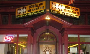 Meskerem, the country's oldest Ethiopian restaurant,  opened in Washington, D.C., in 1984.