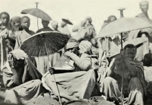 Selling red peppers in Addis Ababa (1913)