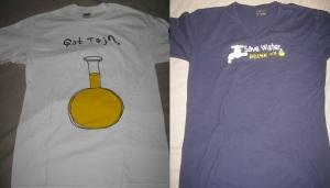 My souvenir t-shirts